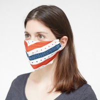 volledig bedrukt 2-laags full colour mondmasker